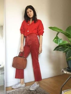 Head-to-toe red for winter fashion | Girlfriend is Better
