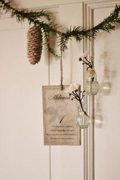 ♕ pretty garland idea