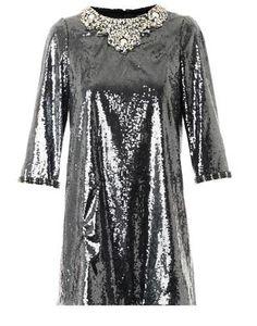 Dolce & Gabbana Crystal and sequin-embellished dress auf shopstyle.de