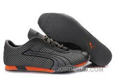 Puma H-Street Rising Plus Running Shoes GreyOrange Cheap To Buy