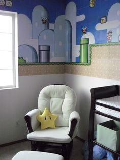 Carson's Mario World Nursery **pic heavy** - HOME SWEET HOME