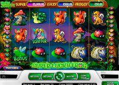 """Hast Du schon Märchen mit einem fliegenden Frosch gesehen? Spiele """"Super Lucky Frog"""" von NetEnt 5 Walzen Video Spielautomat! Kostenloses Spass steht schon zur Verfügung und hat schon Progressiver Jackpot bei """"Super Lucky Frog"""" Slot vorbereitet! Habe Spass!"""