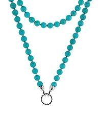 Kagi Jewellery, Turquoise Petite Necklace. Birds of Paradise Collection.