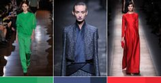 PFW SS2013 Key Color Trends analysis, Paris color trends