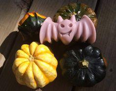 Halloween Bat Natural Soap/coconut oil, vit E and essential oils/