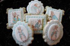 peter rabbit cookies Peter rabbit baby shower by 4theloveofcookies
