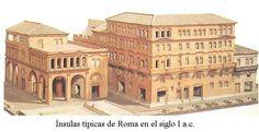LAS CASAS ROMANAS :: ROMA ANTIGUA