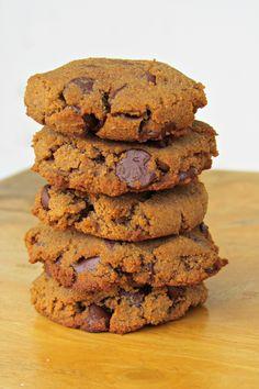 Paleo pumpkin chocolate cookies.