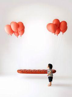 balloons sofa