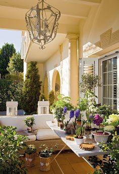 A beautiful veranda
