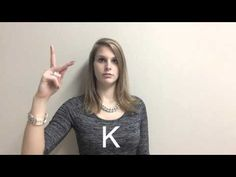 Gebarentaal Alfabet (les 1) - YouTube