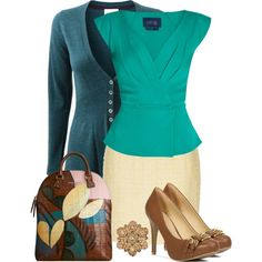 """Summer to Fall Transition"" by callmeadie on Polyvore"