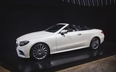 Following its world reveal at Geneva, the 2018 Mercedes-Benz E-Class Cabriolet shows up in New York for its U.S. premiere.
