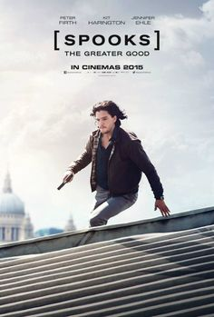 Spooks - The Greater Good poster avec Kit Harington