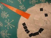 snowman art-ideas