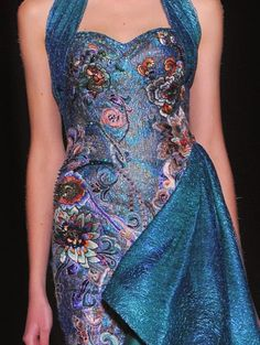 patternprints journal: PRINTS, PATTERNS AND TEXTILE SURFACES FROM HAUTE COUTURE CATWALKS (WOMENSWEAR S/S 2015) / Laurence Xu