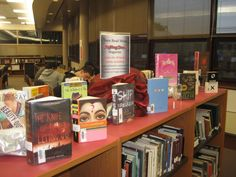 HCHS Celebrates Teen Read Week 2014 with a display of Rolling Stone Magazines Top 40 YA Picks.