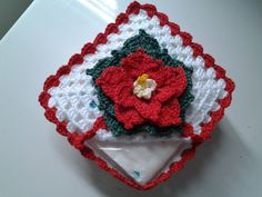 porta-guardanapo-flor-natalina-flor