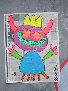 street-art-bortusk-leer Dragons, Bad News, Graffiti, Eye Candy, Street Art, Netherlands, Ps, Inspiration, Amsterdam