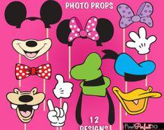 MICKEY Maus Foto Booth Requisiten Mickey Mouse von PixelPerfect10