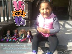 New Mommy Bliss ♥: Celebrando Our Latina Life with Vi and Va dolls (Review and Giveaway)