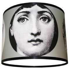 Fornasetti lampshade.