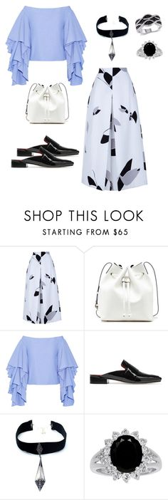 """Spring #1"" by thedailyuniform on Polyvore featuring TIBI, Sole Society, Rosie Assoulin, Dorateymur and Child Of Wild"