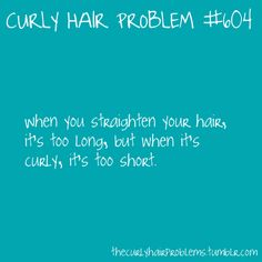 curly hair problem #604