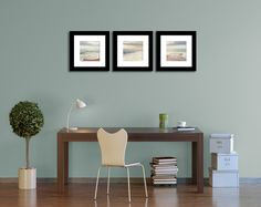 Save 20 3 Beach Wall Art Prints Ocean by GreenGooseGallery on Etsy, $77.00