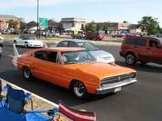1966 Dodge Charger Wing Car Replica