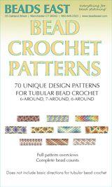70 Patterns for tubular bead crochet Ann Benson Download Bead Crochet Patterns, Bead Crochet Rope, Beaded Bracelet Patterns, Beading Patterns, Beaded Jewelry, Diy Jewelry, Crochet Jewellery, Beaded Crochet, Jewelry Ideas