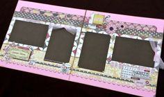"""12x12 Scrapbook Page Summer or Love Themed Kit . DIY Kit or Pre-Made Double Page Layout. Summer Blooms. Carta Bella """"Beautiful Moments"""""""