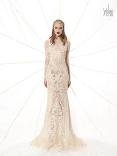 YolanCris 2015 Daring brides only! This new line of wedding dresses are inspired by a cheerful spontaneous dreamy woman with a personal style and a free spirit.