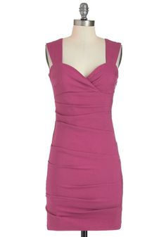 modcloth.com, sleeveless purple with a sweetheart neckline; not recommended if you're worried about cleavage.