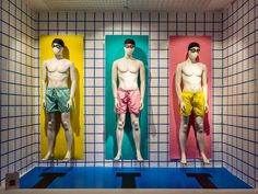"""ARTIDI ESCUELA SUPERIOR, Barcelona, Spain, student project: """"Summer has only just begun"""", pinned by Ton van der Veer"""