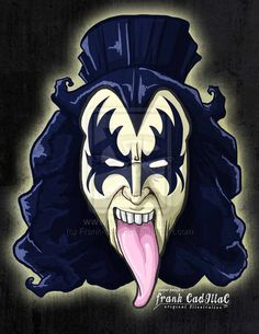 Gene Simmons by Frank-Cadillac