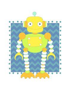 Robot by+KristinParsons