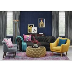 Get inspired by Eclectic Living Room Design photo by Wayfair Home. Wayfair lets you find the designer products in the photo and get ideas from thousands of other Eclectic Living Room Design photos. Furniture Making, Living Room Furniture, Home Furniture, Living Room Decor, Basement Furniture, Plywood Furniture, Modern Furniture, Furniture Design, Eclectic Living Room