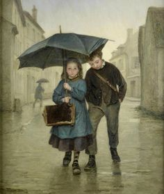 Pierre-Edouard Frere    Going to school…..SIS IS GOOD & DRY……BRO IS JUST SO-SO………….ccp
