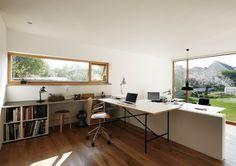 Atelierhaus in Würzburg - Wohnen und Arbeiten modern-home-office