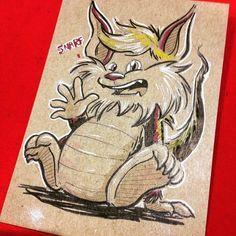 Snarf sketch by Justin Castaneda