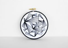 abstract embroidery-could make cool quilting