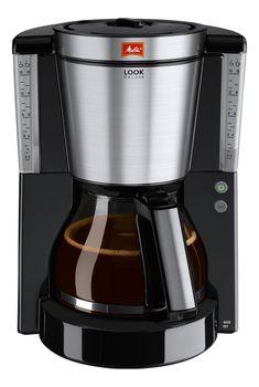 Melitta 1011-06 Look IV Deluxe Coffee Filter Machine - Black