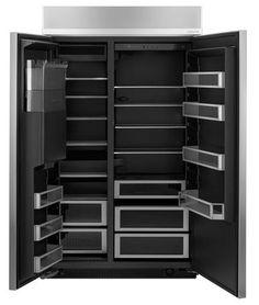 Jenn air obsidian refrigerator love the interior color of for Obsidian interior refrigerator