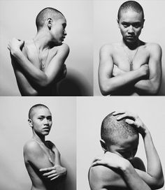 Shameless Maya Explains Why She Decided To Shave Her Head In This Intimate Video Nude Photography, Portrait Photography, Travel Photography, Natural Hair Styles, Short Hair Styles, Shave Her Head, Bald Hair, Bald Women, Monochrom