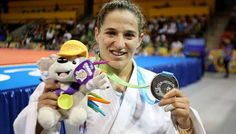 July 11 - Judo - Women's - 48 kg Gold Medal Contest. Paula Pareto of Argentina wins silver.