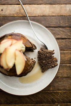 Gluten-Free Buckwheat Pancakes | http://naturallyella.com