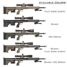 DTA SRS-A1 Rifle Chassis - Firearms - Desert Tech