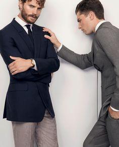 Jamie Dornan in the new Ermenegildo Zegna Spring Summer 2014 Advertising campaign by designer Stefano Pilati - 07