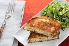 Brie & Pear Grilled Cheese Sandwiches